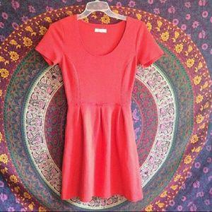 MADEWELL Blood Orange Dress